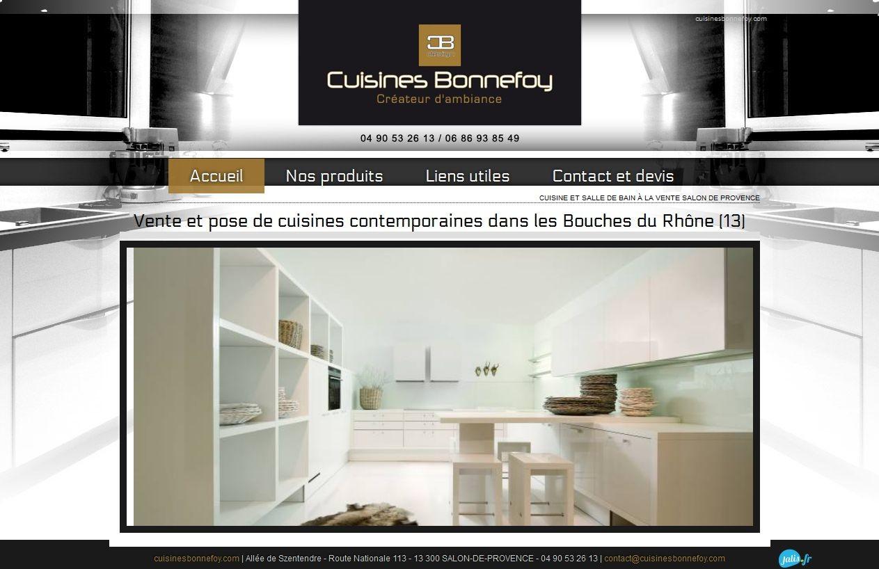 Cuisines haut de gamme et design salon de provence for Liste cuisiniste