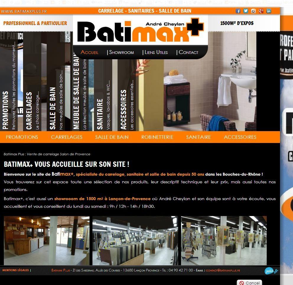 Salle De Bain Zellige Blanc ~ Vente De Carrelage Lan On Provence Batimax Plus Agence Web
