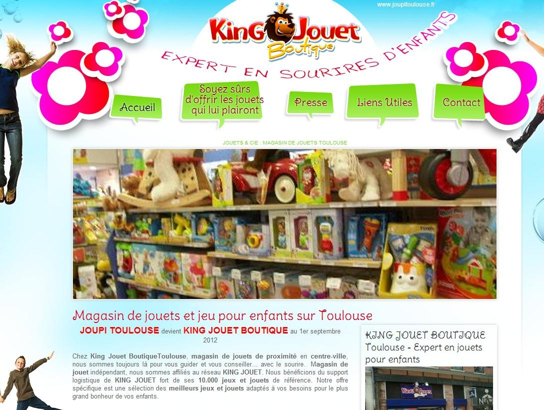 magasin de jouets toulouse joupi toulouse agence web marseille jalis. Black Bedroom Furniture Sets. Home Design Ideas