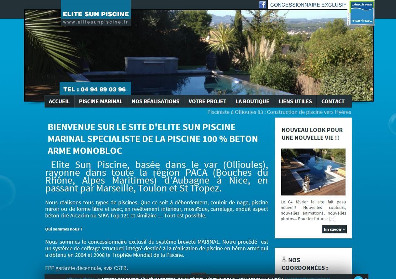 faire construire une piscine d bordement vers ollioules dans le var elite sun piscine. Black Bedroom Furniture Sets. Home Design Ideas