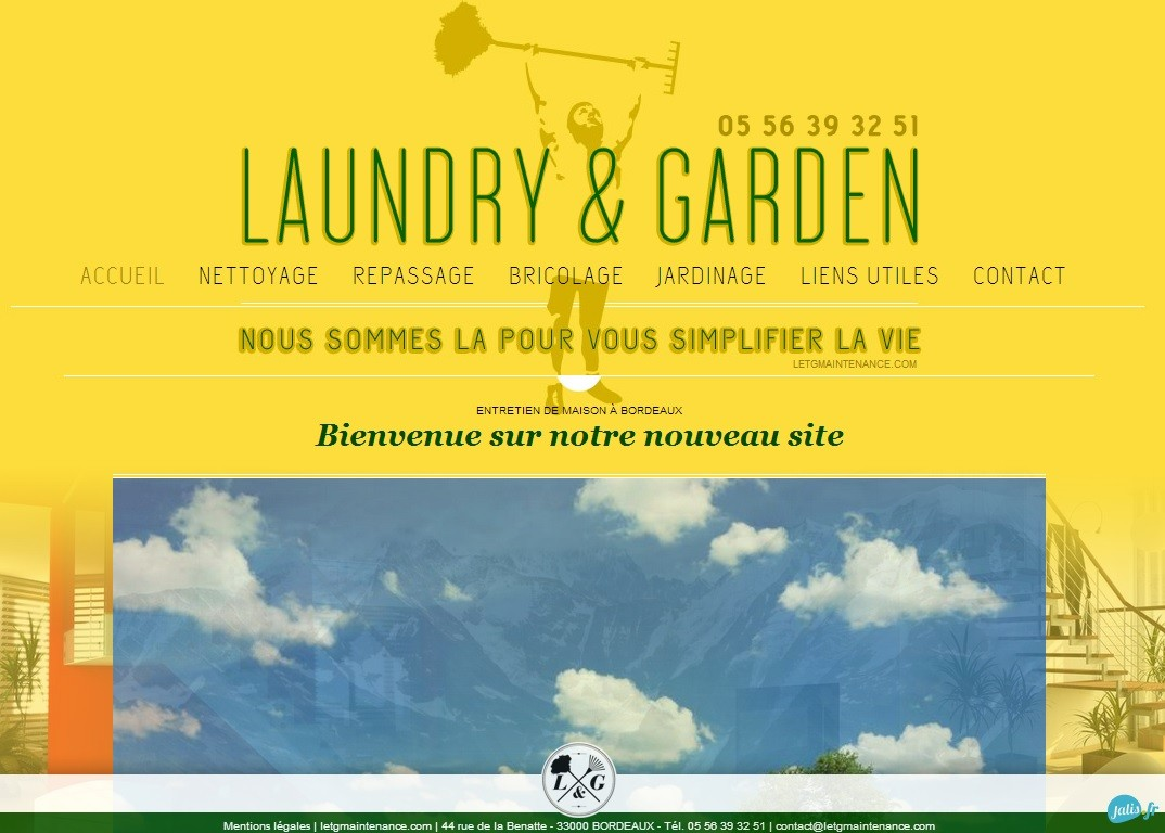 soci t multiservices nettoyage et jardinage bordeaux laundry garden r alisations agence. Black Bedroom Furniture Sets. Home Design Ideas