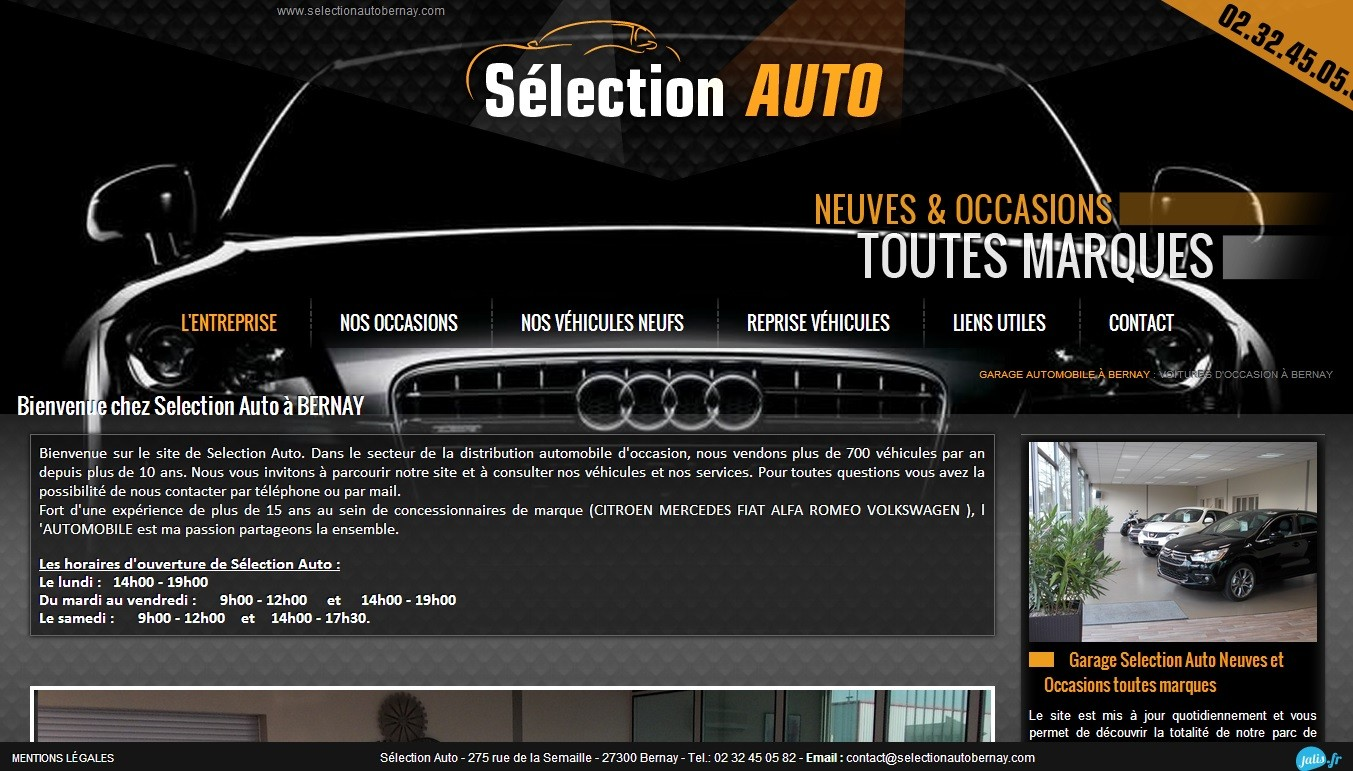 D p t vente voitures bernay dans l 39 eure s lection auto for Garage peugeot bernay