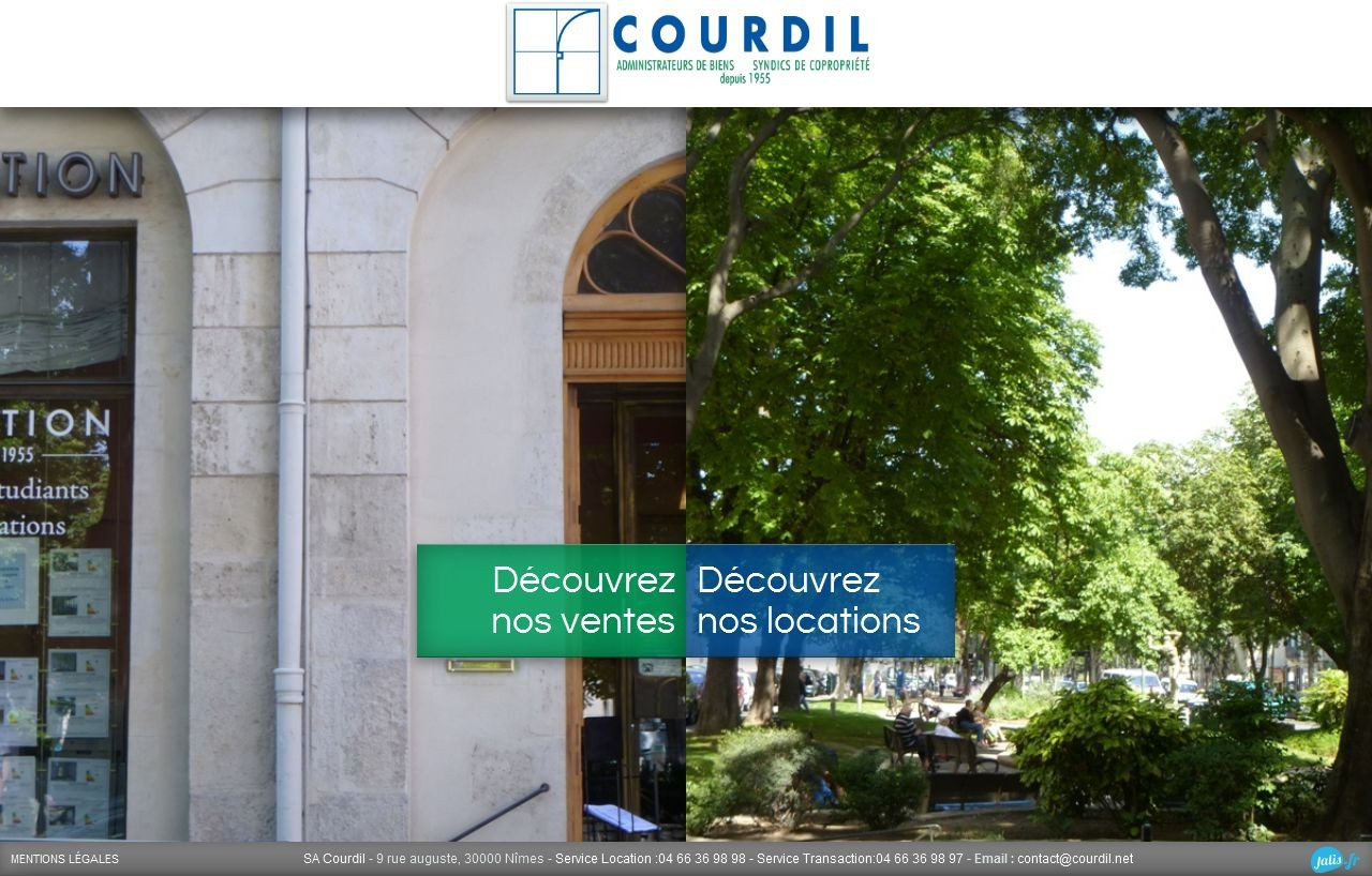 agence immobili re sur n mes sa courdil agence web