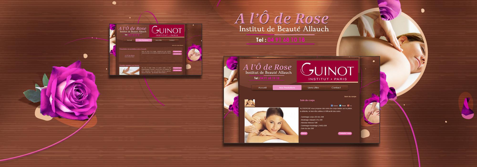 Institut de beauté Guinot - Allauch, A l'O de Rose