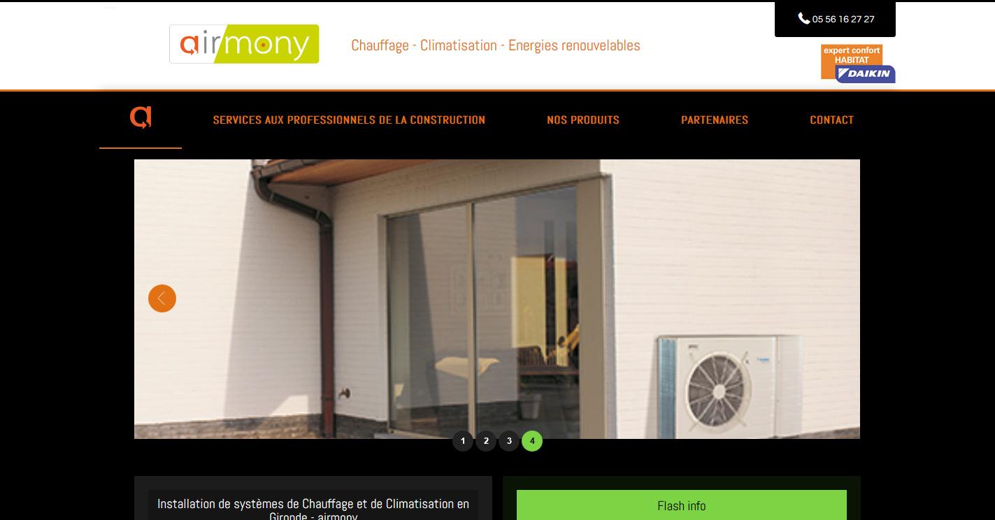 syst mes de chauffage et climatisation en gironde airmony jalis. Black Bedroom Furniture Sets. Home Design Ideas