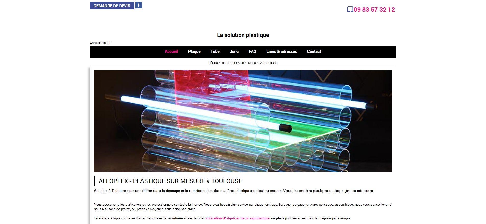 usinage de produits plastiques Toulouse
