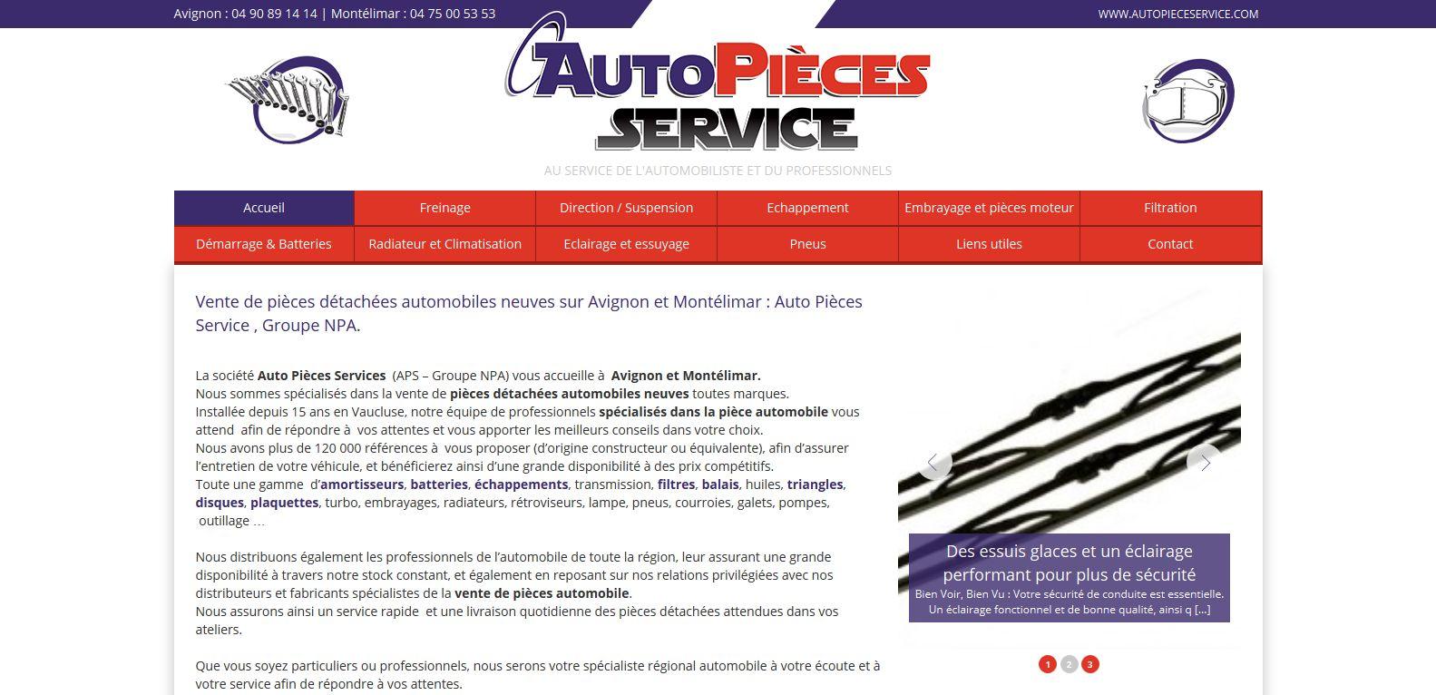 pièces auto à la vente dans le Vaucluse