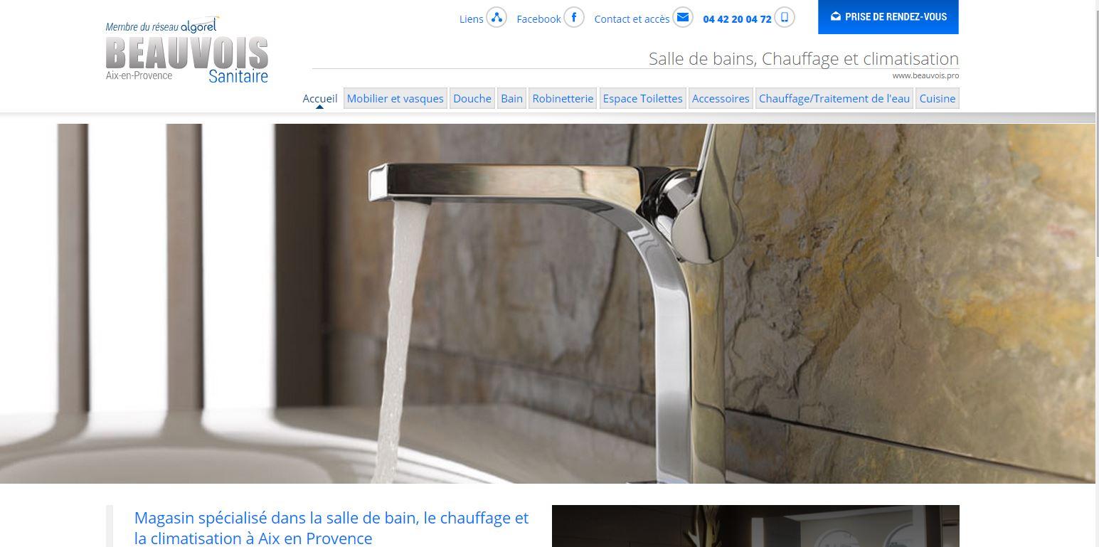 magasin de salle de bains sur aix en provence ets beauvois jalis. Black Bedroom Furniture Sets. Home Design Ideas
