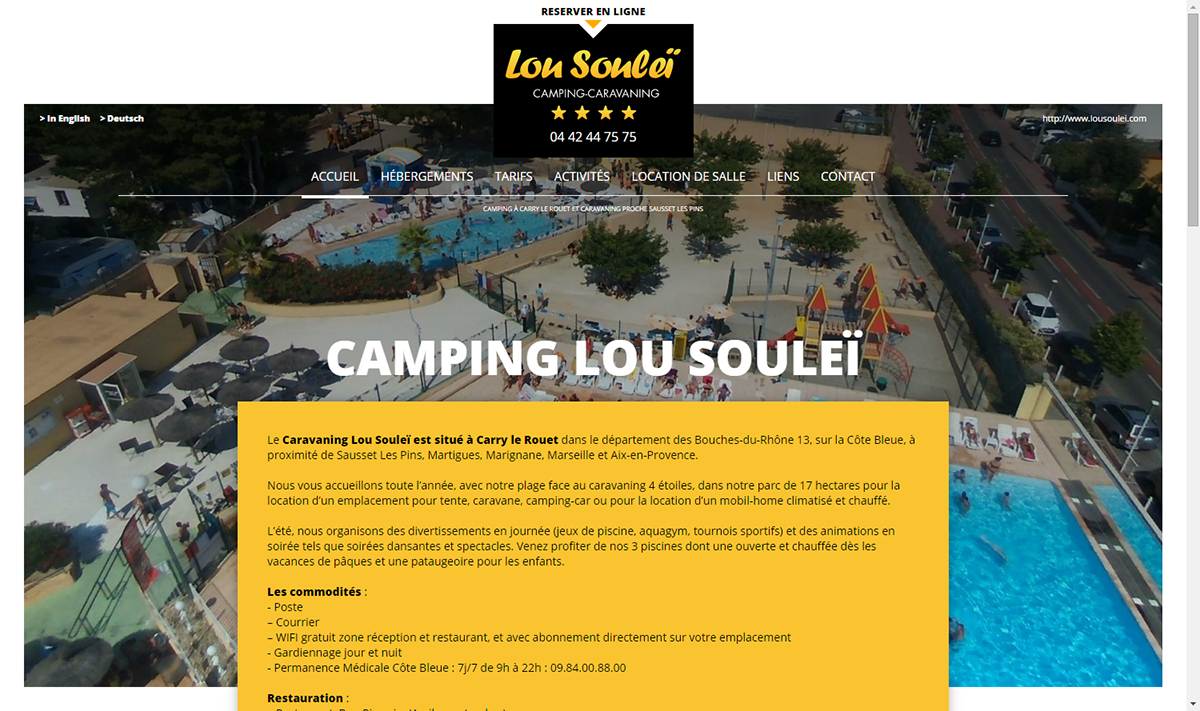Camping Lou Soulei Carry Le Rouet