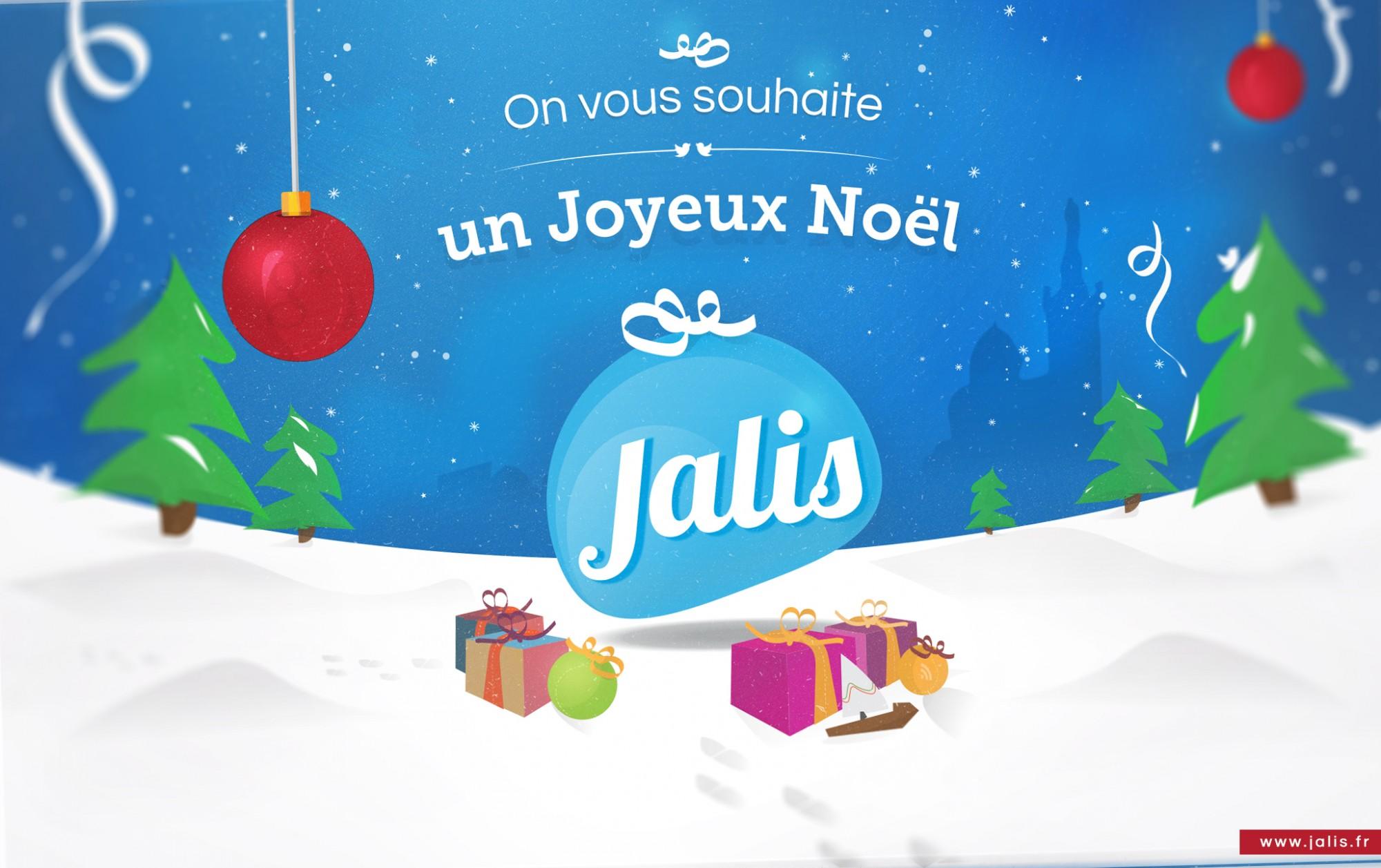 Carte de Noël 2015 de Jalis