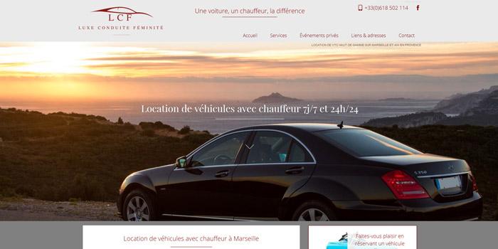 location de voiture de luxe avec chauffeur priv sur marseille lcf driver r alisations agence. Black Bedroom Furniture Sets. Home Design Ideas