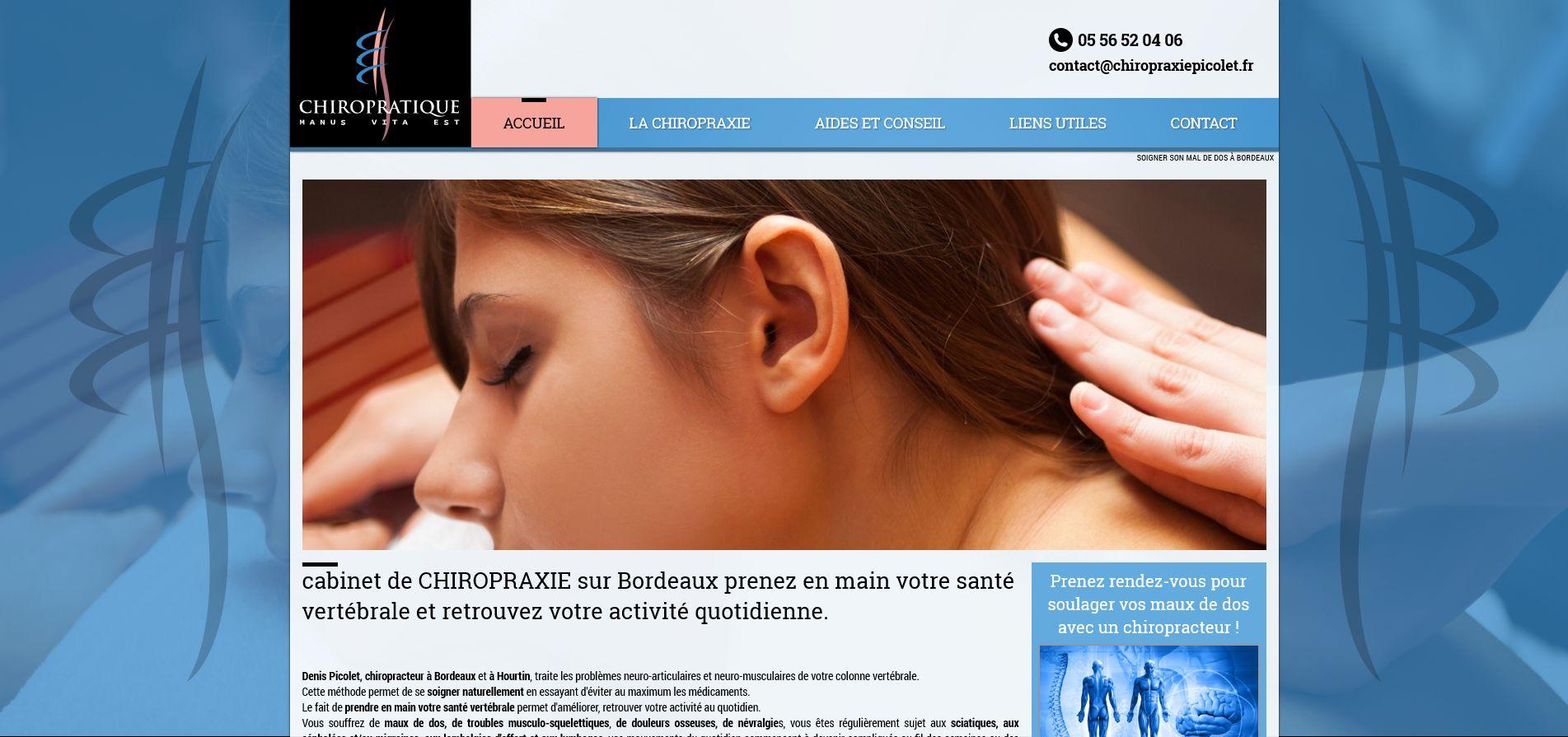 chiropracteur Gironde 33