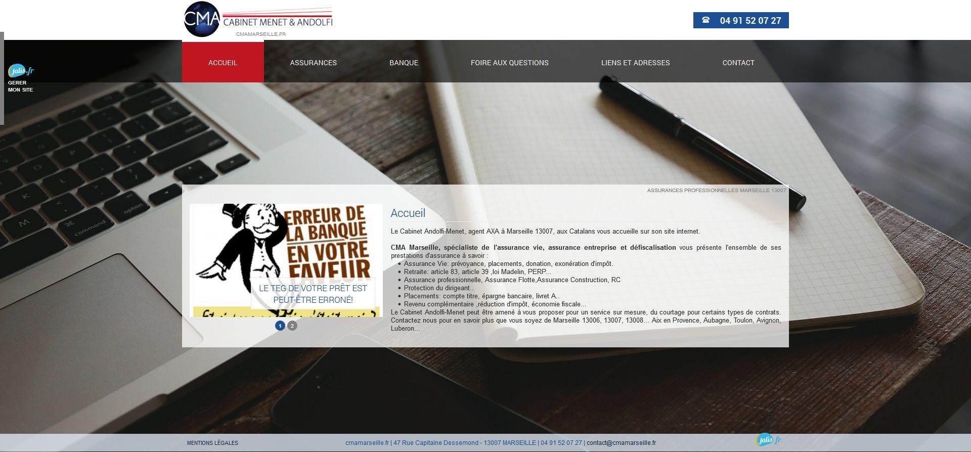 agence AXA assurances Marseille 13007