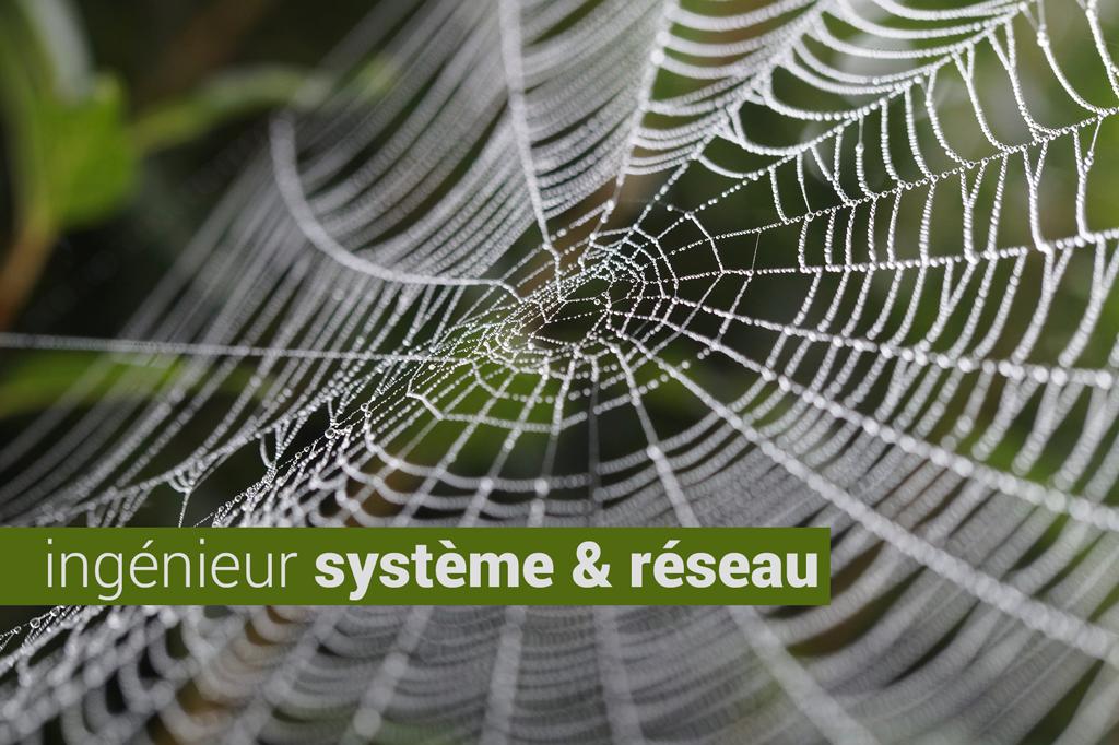 CDI : ingénieur système et réseau H/F
