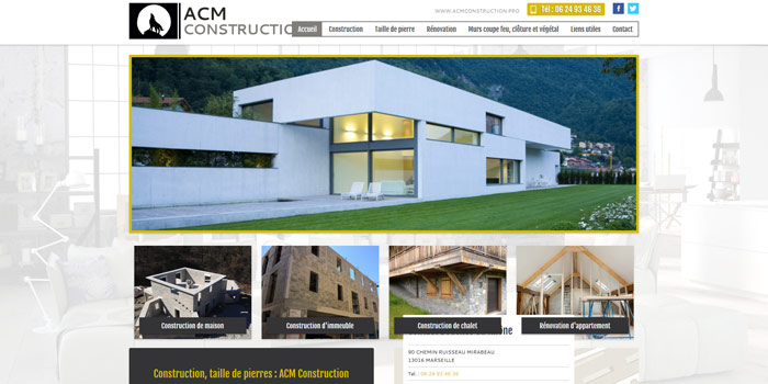 Construction de maison et villa sur marseille acm construction r alisations - Construction maison marseille ...