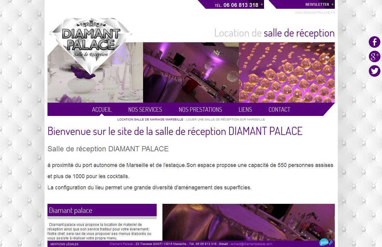 louer une salle pour un mariage sur Marseille