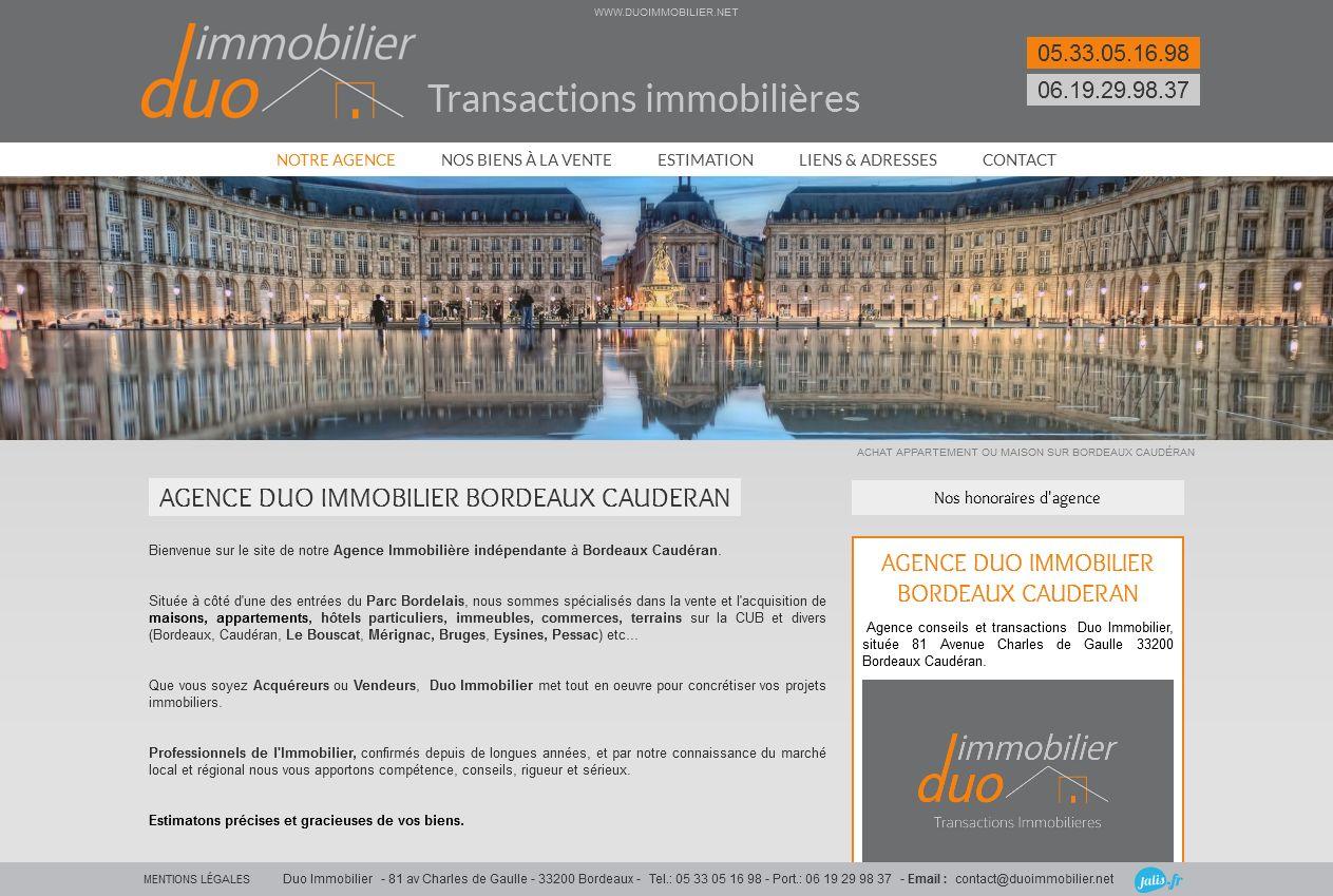 transactions immobilières Bordeaux