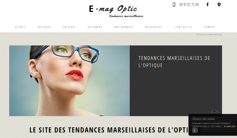 Opticien visagiste Marseille 8e