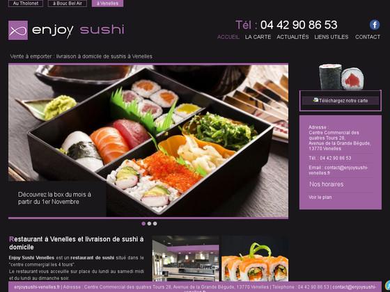 restaurant japonais sushis et sashimis pr s d 39 aix en provence enjoy sushi venelles jalis. Black Bedroom Furniture Sets. Home Design Ideas
