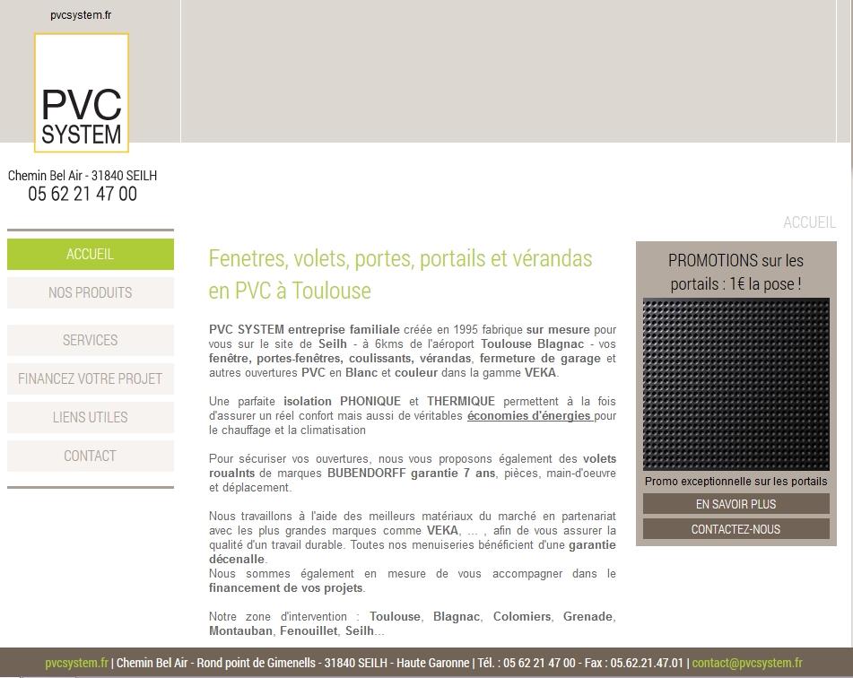 Vente et pose de menuiserie PVC vers Toulouse