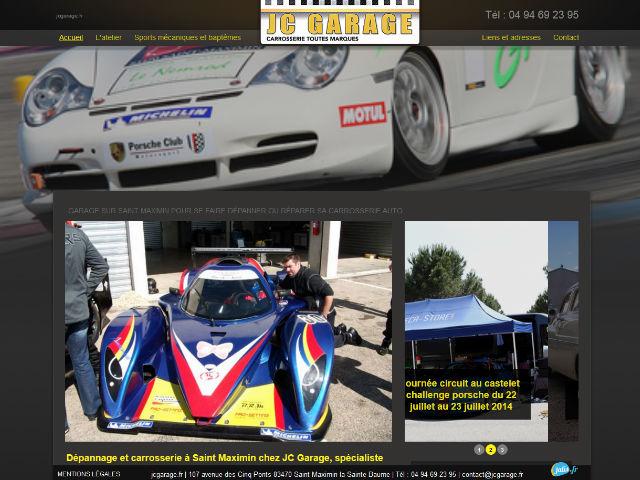 Carroserie et d pannage auto sur saint maximin jc garage for Site internet pour garage automobile