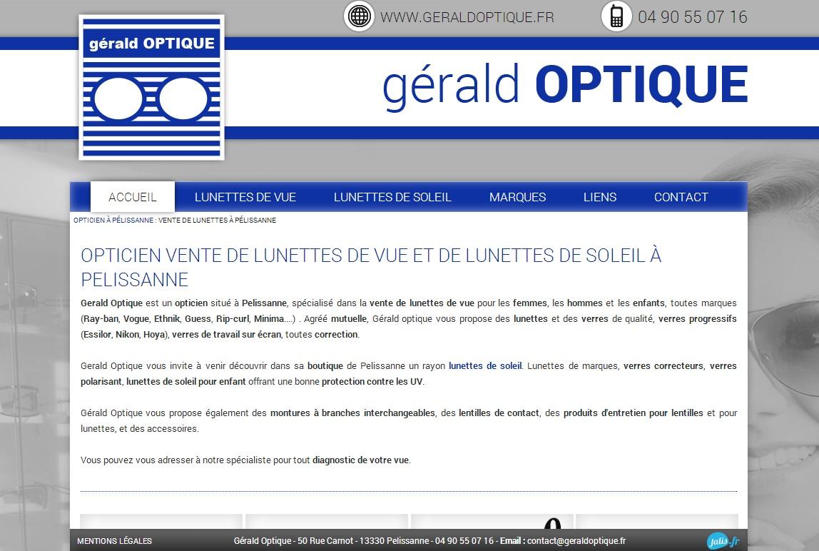 opticien pélissanne