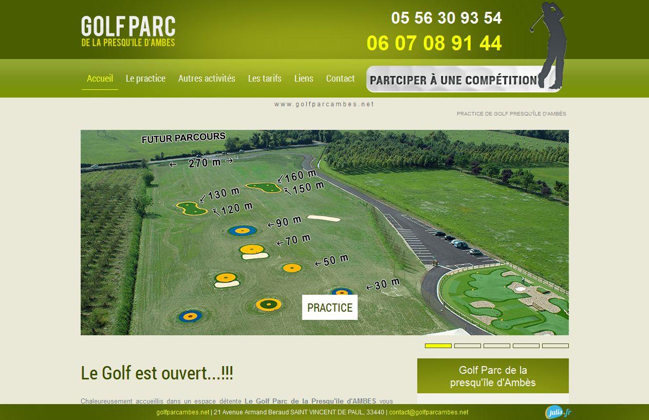 practice de golf Bordeaux