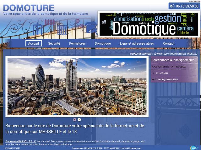 Installation de systèmes automatisés et domotique Marseille - Domoture