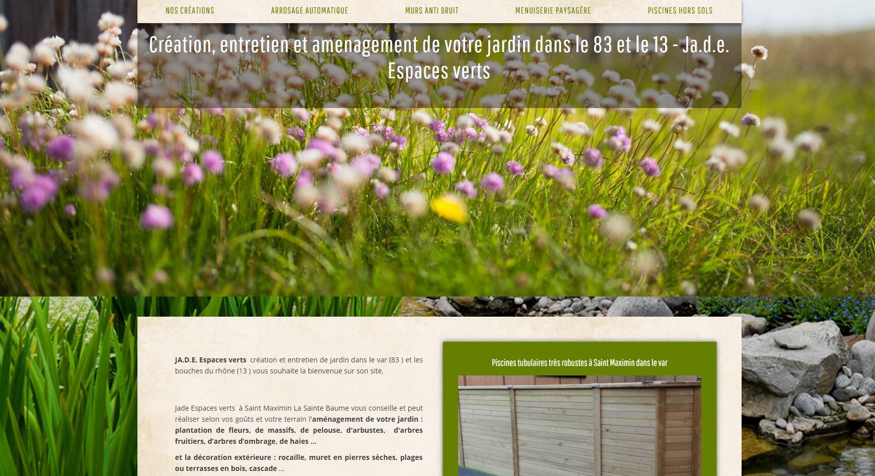 Cr ation et entretien de jardin par jardinier paysagiste for Recherche entretien jardin