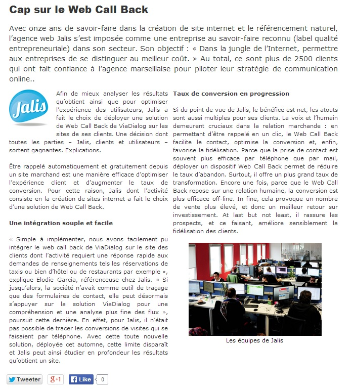 jalis pour viadialog