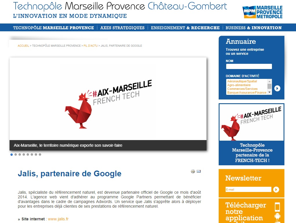 jalis google partners technopôle
