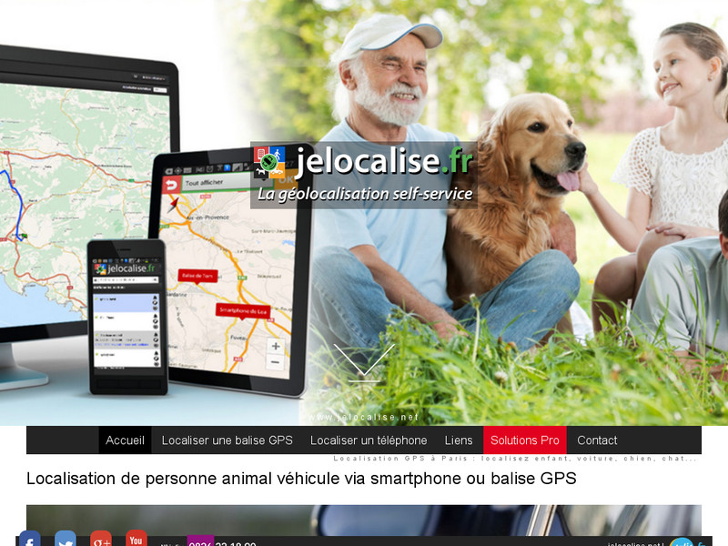 Balise GPS pour localisation de personnes