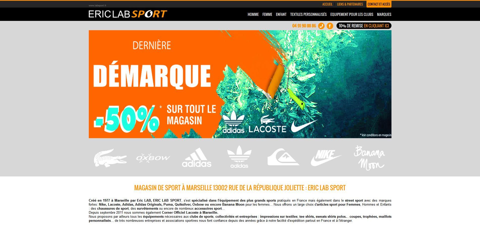 boutique sportswear sur Marseille