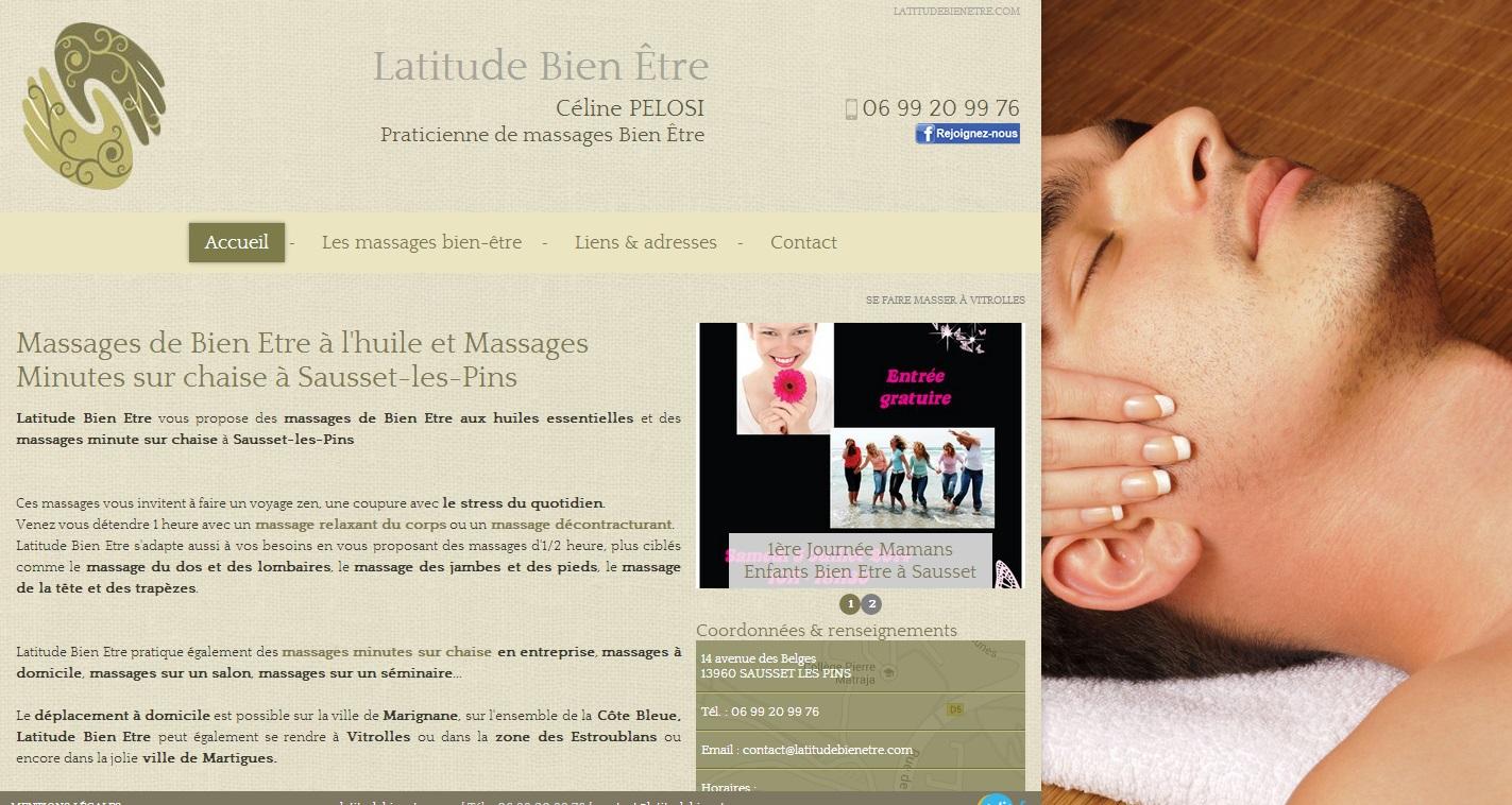 sp cialiste du massage bien tre sausset les pins c line pelosi agence web marseille jalis. Black Bedroom Furniture Sets. Home Design Ideas