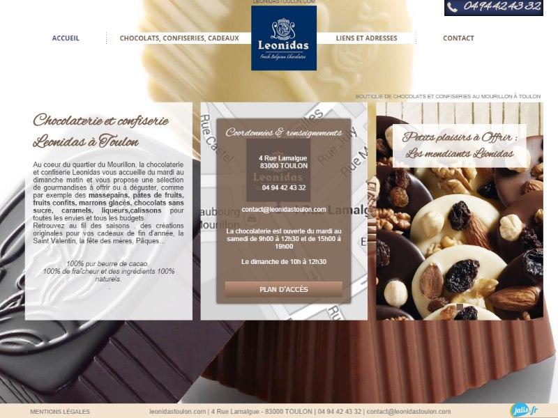 Boutique chocolats confiseries Toulon