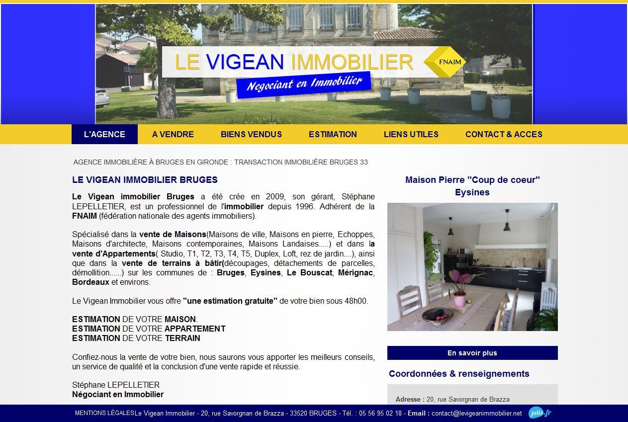agence immobilière Bruges Gironde