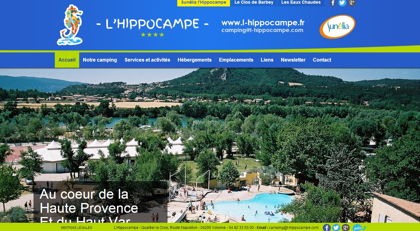 Camping familial 4 toiles avec piscine en haute provence for Camping haute provence avec piscine