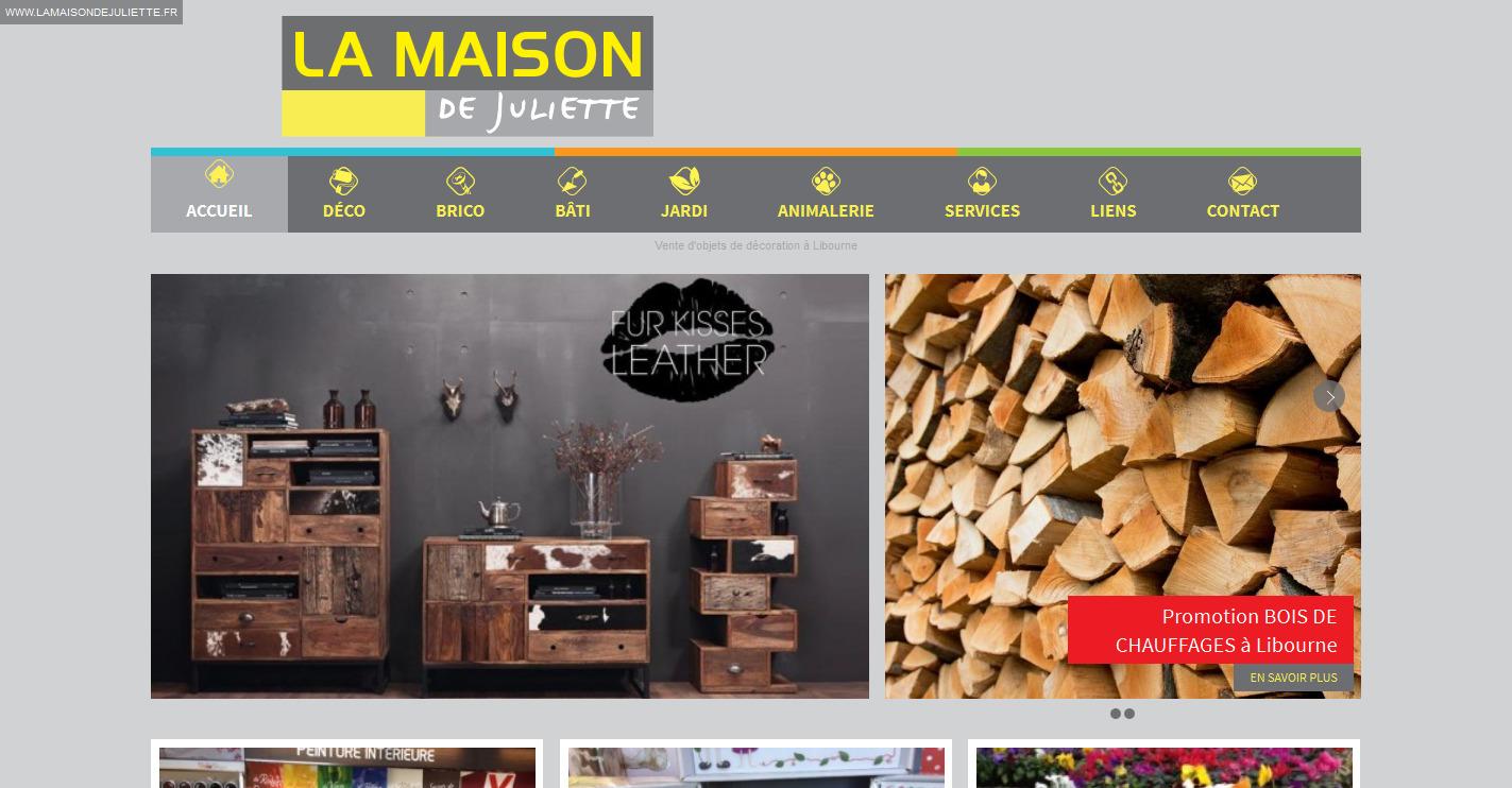 articles de d coration et bricolage libourne la maison de juliette r alisations agence de. Black Bedroom Furniture Sets. Home Design Ideas