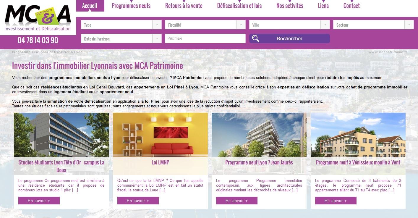 Immobilier neuf pour défiscaliser à Lyon