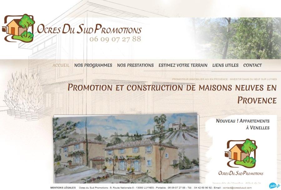 promotion immobiliere, terrain a vendre sur Luynes