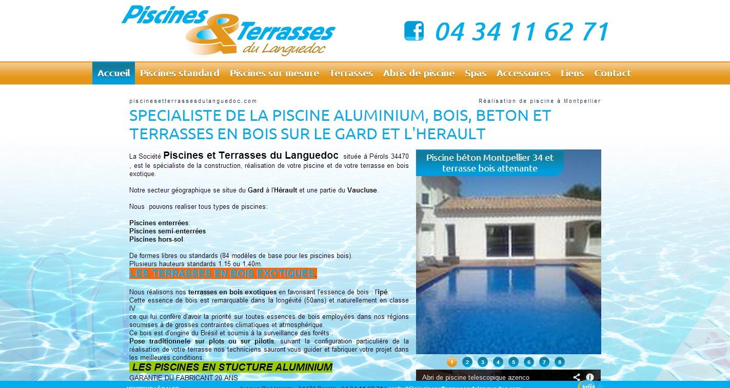 Constructeur De Piscine Montpellier constructeur de piscines et terrasses à montpellier