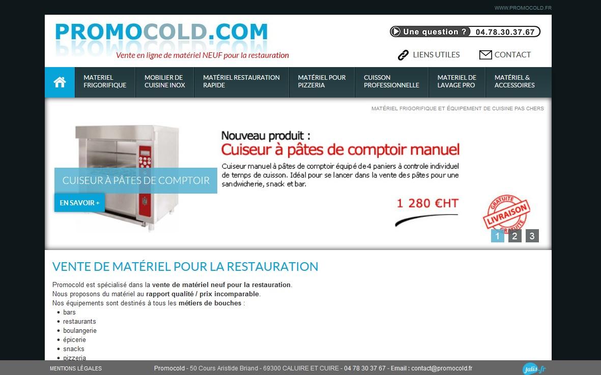 Vente de matériel frigorifique pas cher