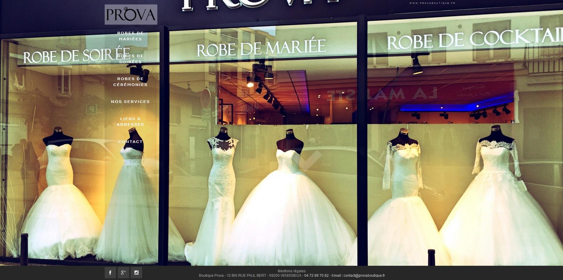 Magasin de robes de mari e et c r monie v nissieux for Magasins de robe de mariage nj