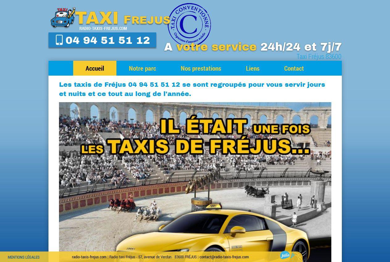 compagnie de Taxis sur Fréjus Var