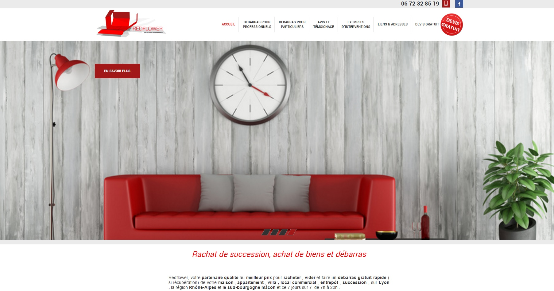 entreprise de d barras d 39 encombrants et meubles lyon red flower jalis. Black Bedroom Furniture Sets. Home Design Ideas