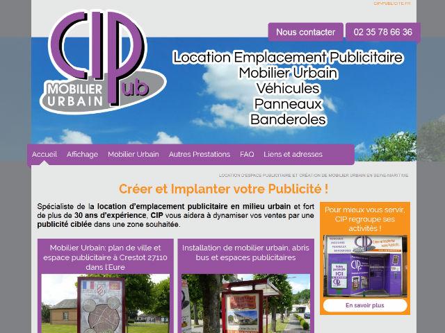 location panneaux publicitaires Seine Maritime