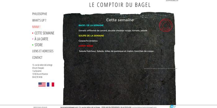 restaurant bagel Aix en Provence