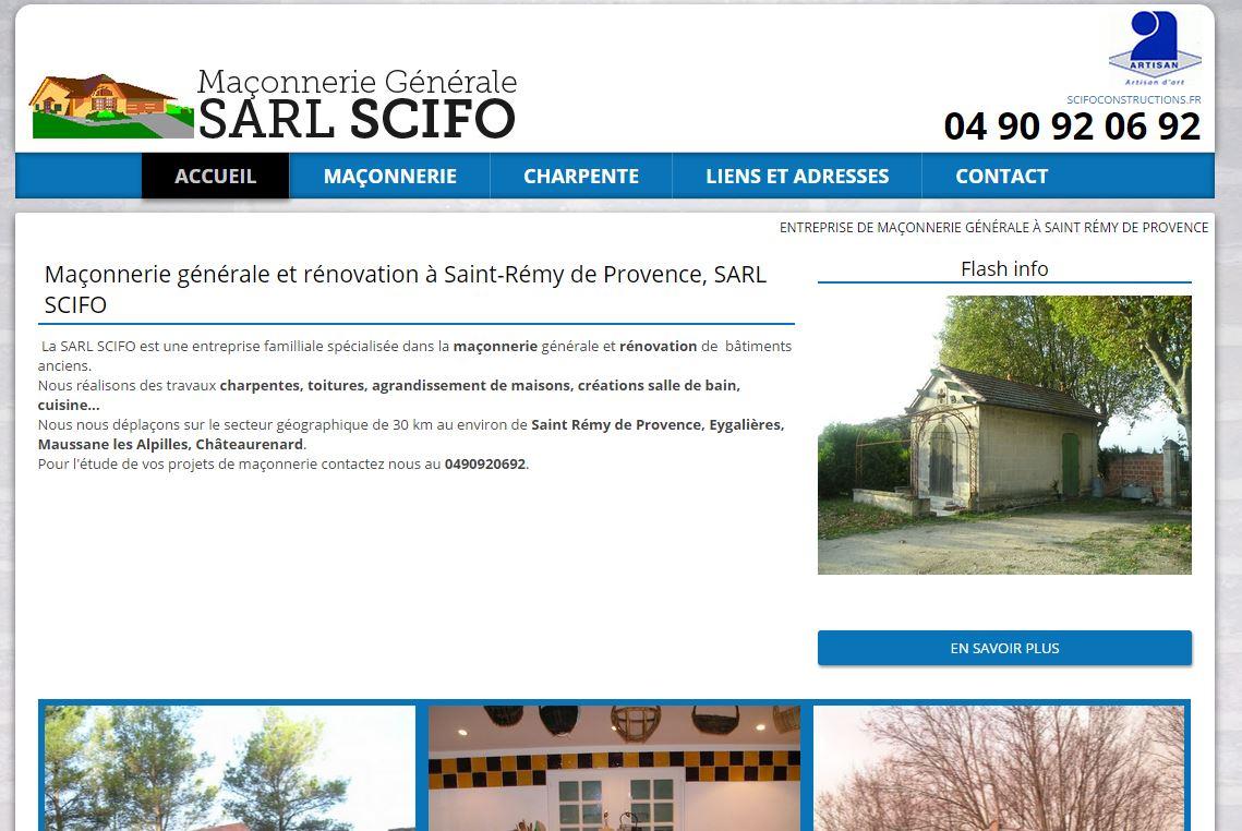 Rénovation de mas et villas à Saint Rémy de Provence