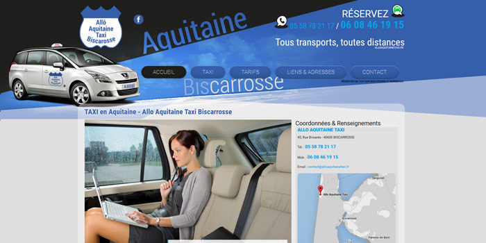 taxi biscarosse
