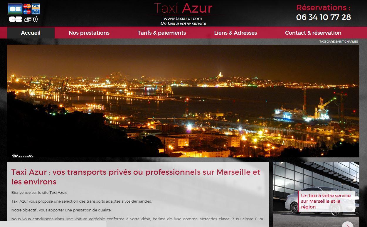Taxi pas cher Marseille